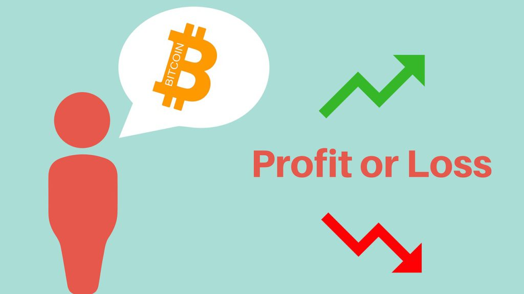 bitcoin, profit, loss